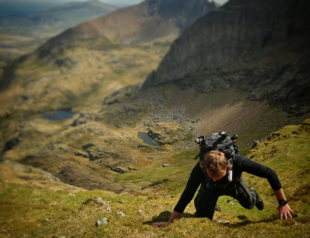 Mountain Navigation Training in Wales navigeren in de bergen met survival school overleven