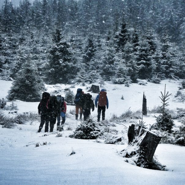 Winter Survival Training met de ervaren instructeurs in de Vogezen op pad